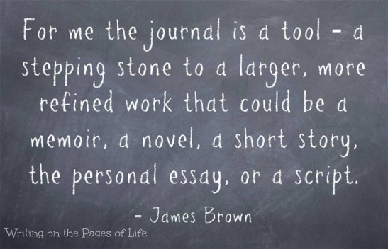 The journal is a tool