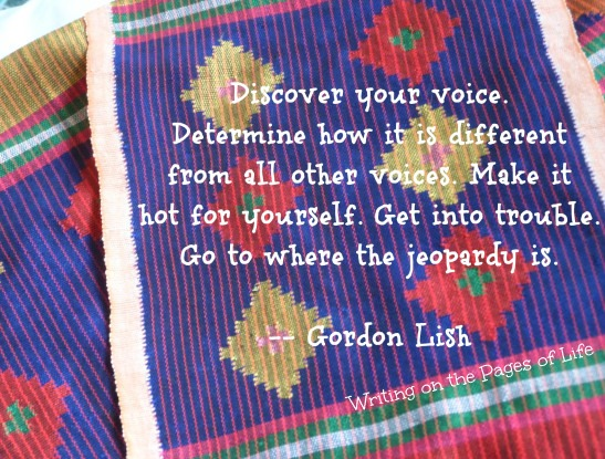 discover your writing voice