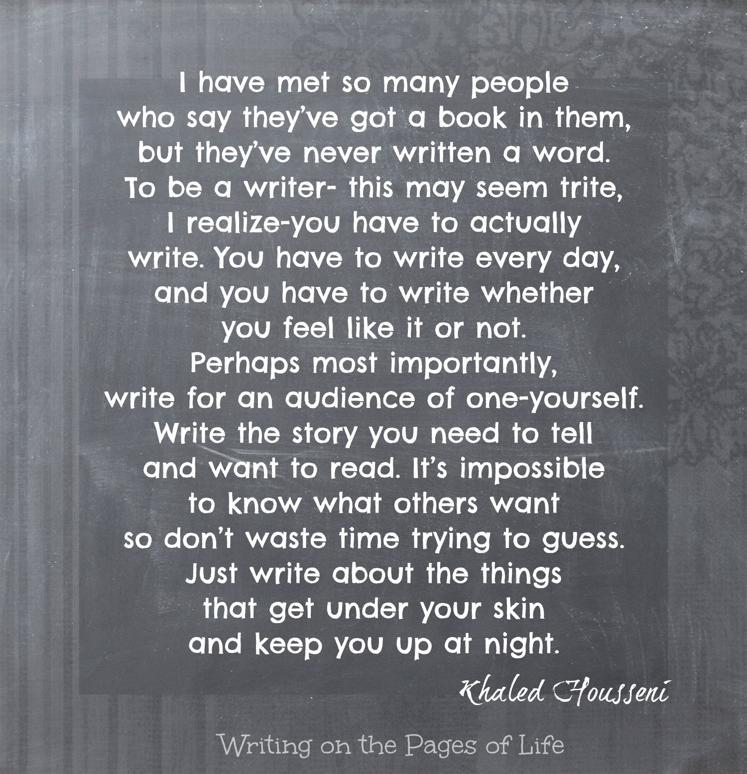 Nuggets Of Wisdom From Writers: On Writing