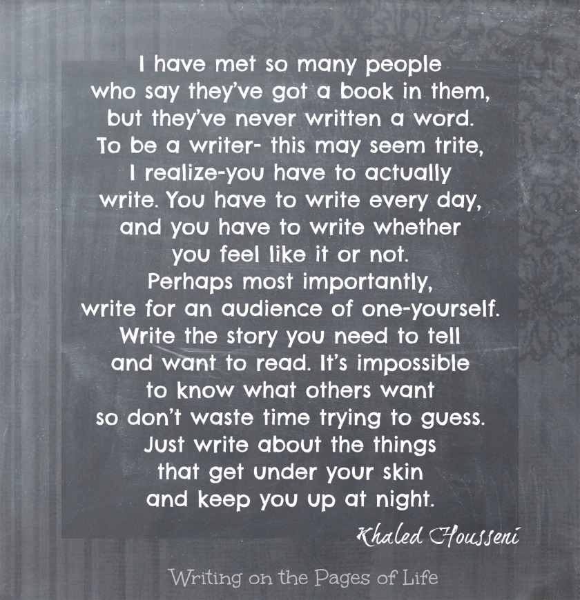 Quote from Khaled Housseni